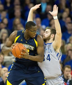 Bluejays expect Marquette to bring the muscle