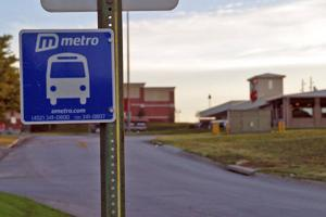 Ralston stands alone in keeping area's only bus route