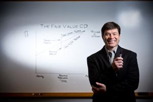Former banker comes up with a patented CD that rewards early cash-out
