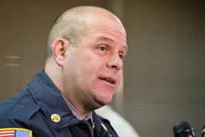 New Omaha Fire Chief Bernie Kanger's plans for his department include a tighter budget