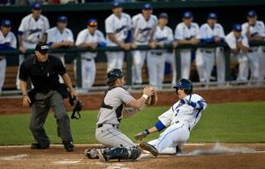 Jays fend off Scarlet Knights in extra innings