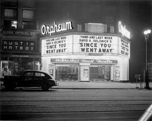Photos: the Orpheum Theater marquee through the years