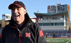 Shatel: Husker coach Mike Riley's outlook is still sunny after a stormy debut season