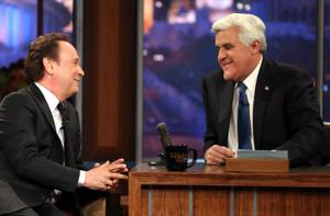 Jay Leno chokes up during 'Tonight' farewell, calling gig the 'greatest 22 years of my life'