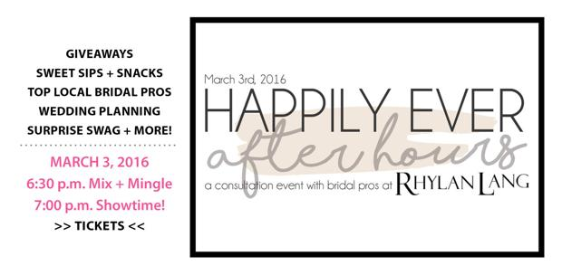 Happily Ever After Hours Event Link