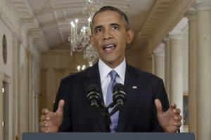 President Obama: Diplomatic approach may remove threat of chemical weapons in Syria