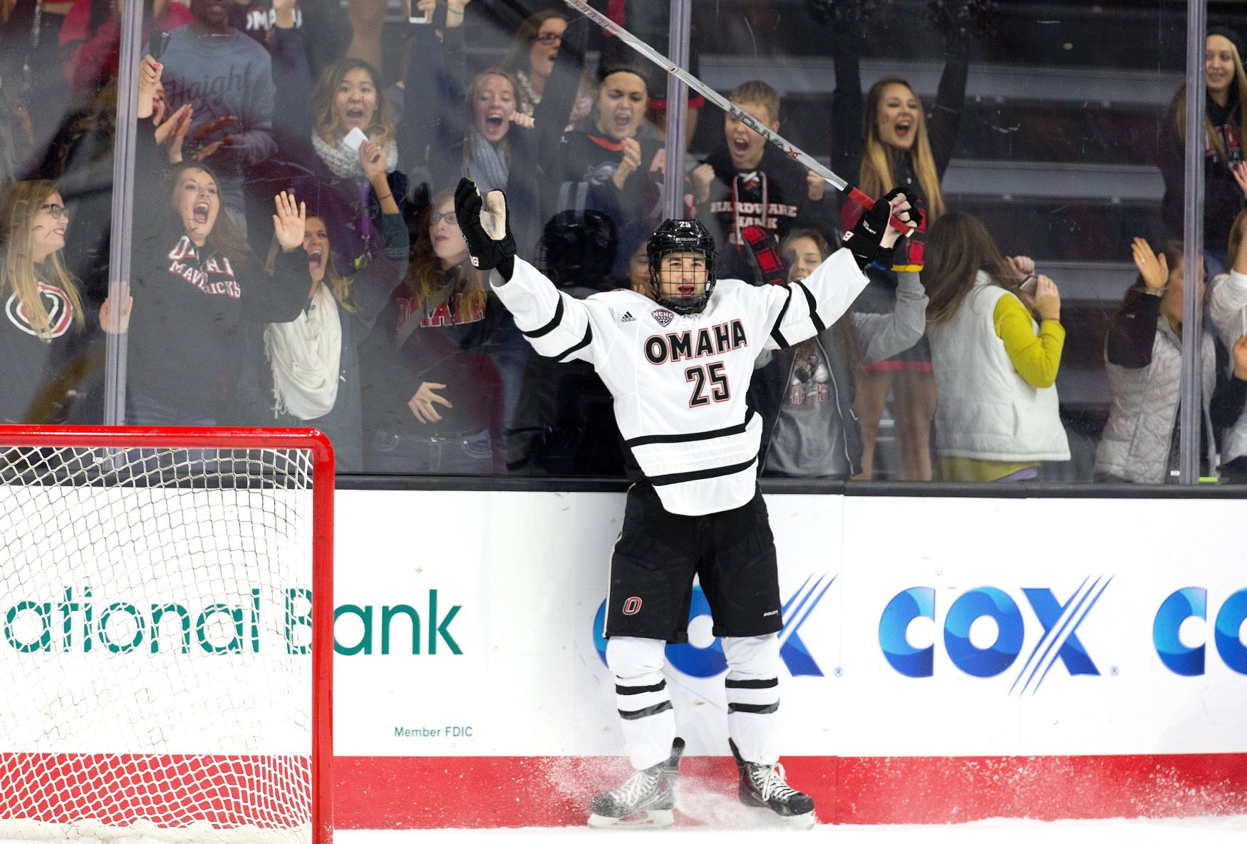 NCHC: UNO Hockey Joins Parade Of Conference Teams In Rankings At No. 20