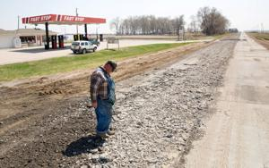 6-mile stretch of Highway 75 is the road not taken