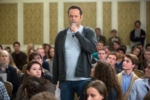 In 'Delivery Man,' Vince Vaughn delivers a charming comedy