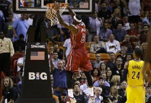 Late run lifts Heat past Pacers 97-94 in showdown