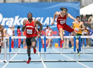 Hurdlers give Huskers solid foundation