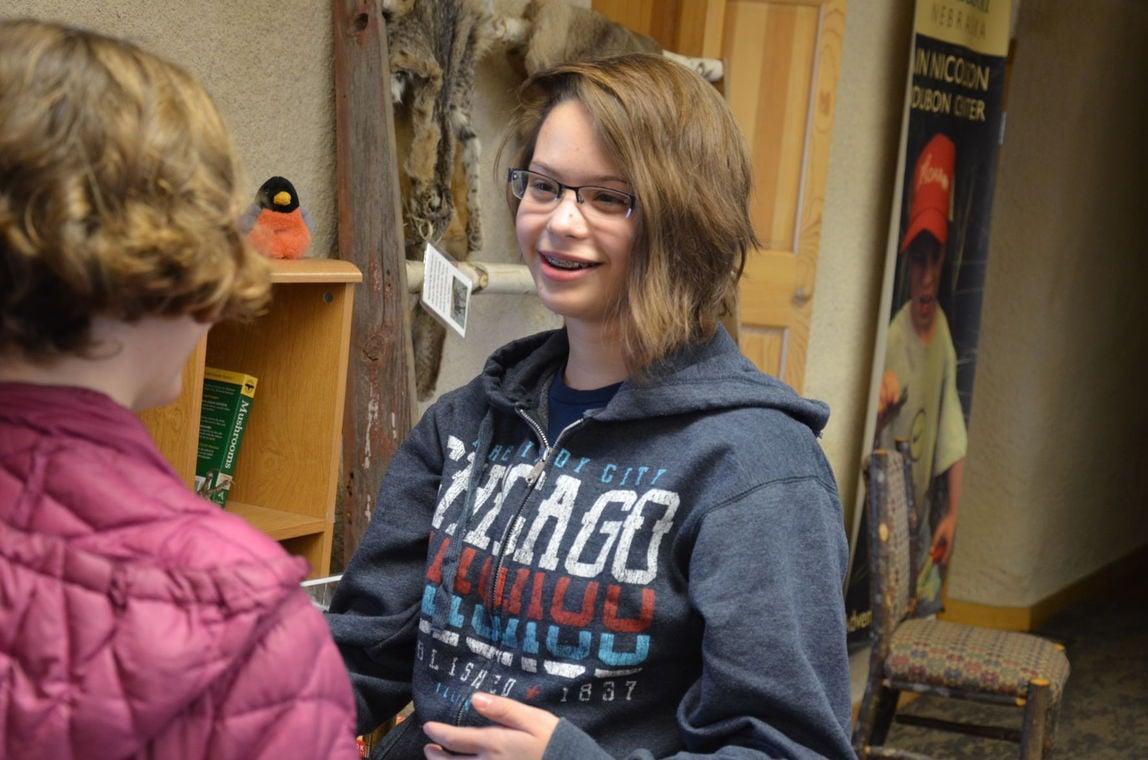 eighth grader sees volunteer work at nature sanctuary as helpful gii sanctuary volunteer
