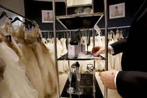 David's Bridal hopes brides fall in love with more upscale look