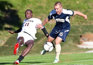 UNO men fall in Caniglia Field debut