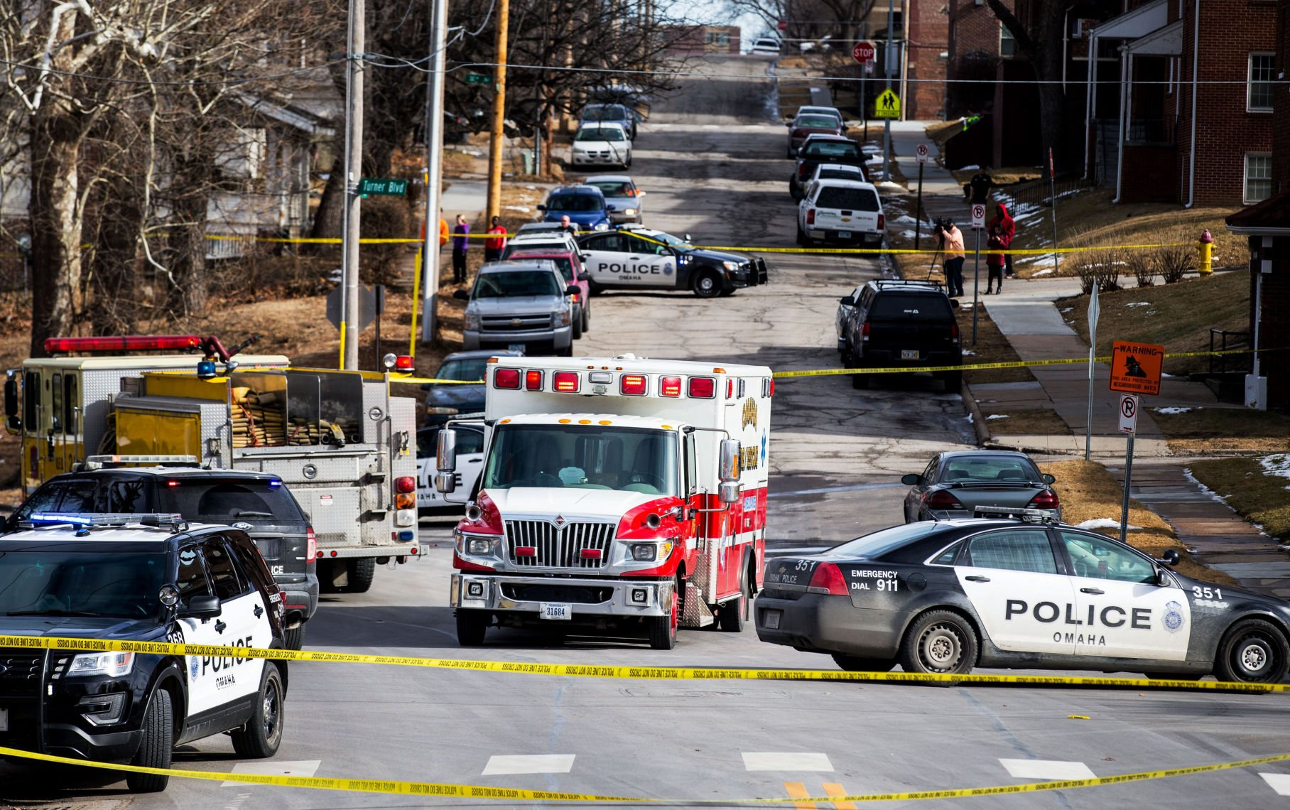 Omaha Officer, Suspect Wounded in Shootout