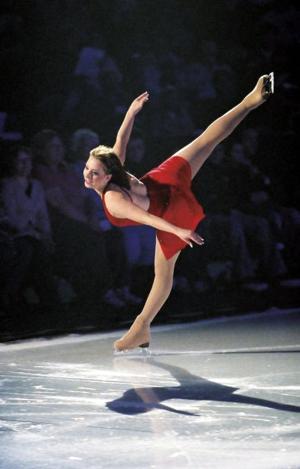 Q&A with Sarah Hughes, figure skater