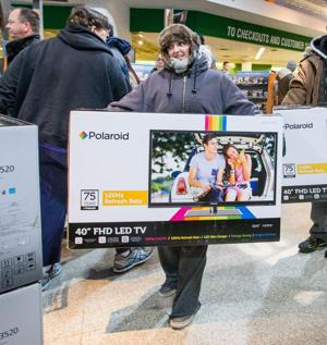 Black Friday Weekend Loses Allure Number Of Shoppers