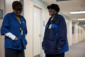 Grace: Greeters offer cancer patients compassion as soon as they arrive