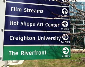 Downtown Omaha sign project headed in right direction ... mostly