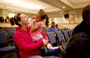 Grace: Special drug court hangs in there with families, helping reunite parents, kids