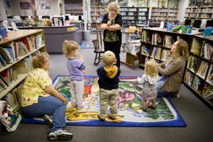 Program brings preschool-age children into Millard schools for story time