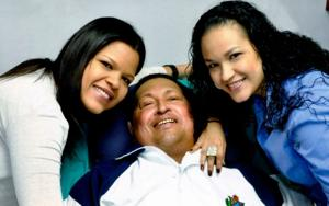 Chavez photos shown after 2-month absence