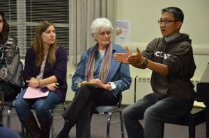Fasting keeps immigration reform in spotlight, Los Angeles activist says in Omaha