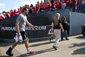 Taylor Martinez may be a game-time decision against Gophers
