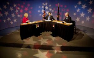 In spirited debate, Stothert, Suttle clash over taxes, crime rates
