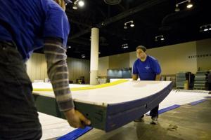 CenturyLink Center starts preparing for skating competition