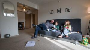 A Sarpy family downsizes to live larger
