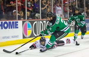 North Dakota wins series opener