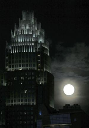 'Supermoon' shines brightly this weekend