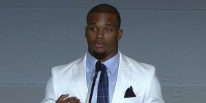 Ameer Abdullah's Big Ten media days speech