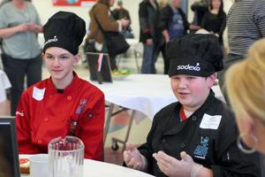 Kids Can Cook bubbles over to seasoned high school chefs