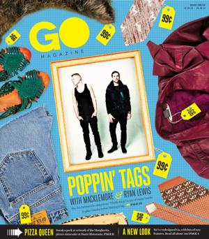 Go magazine's getting a new look and a few changes