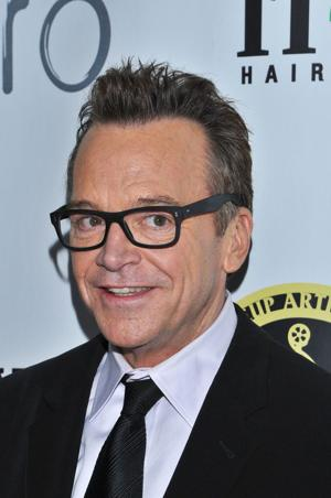 A skinny Tom Arnold is in Omaha today to make you laugh