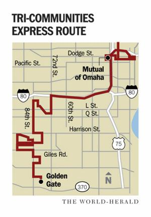 Suburban bus riders fight for route
