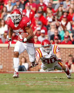 Cyclones can't keep up with Sooners