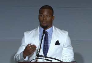 Video: Ameer Abdullah delivers Big Ten keynote speech