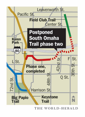 Snags in acquiring land delay construction of link between Field Club, Keystone Trails
