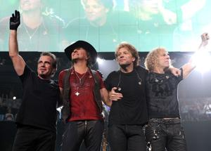 Bon Jovi launches tour 'Because We Can'