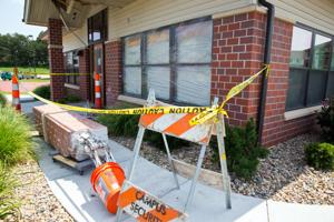Man hospitalized after flipping car into UNO residence hall