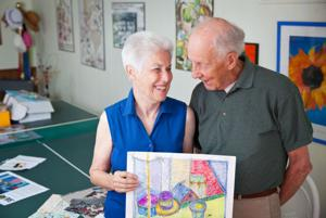 For those fighting illness, Express Yourself program leads to art and friendships