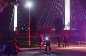 1 dead following shooting on Bob Kerrey Pedestrian Bridge