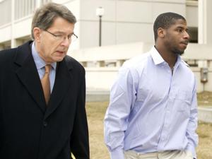 Jury finds former Husker Dennard guilty of felony assault on officer