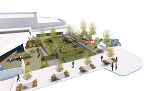 5 teams present visions to transform lot near future Blue Barn Theatre