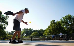 Popularity of pickleball is picking up
