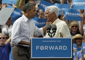 Fla.'s Crist plots political comeback as Democrat