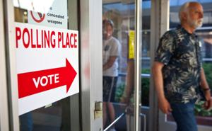 Voter turnout estimated at 35%